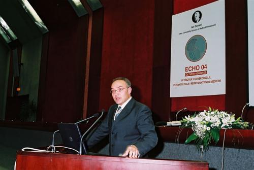 Predsednik kongresa ECHO04aria